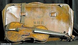 泰坦尼克号小提琴