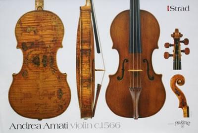 安德烈亚·阿马蒂提琴作品 1566年