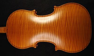 分辨小提琴背板