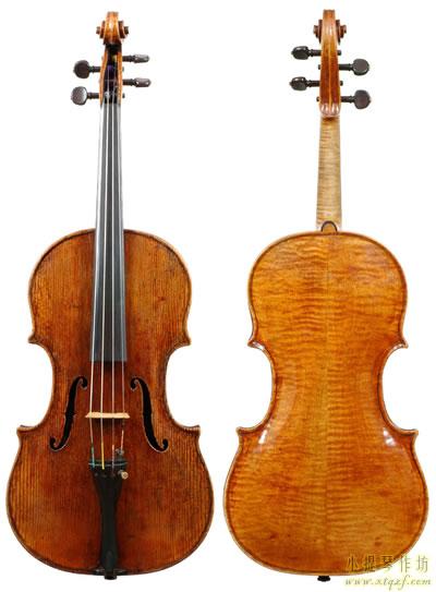 达萨洛提琴作品 1570年 中提琴
