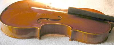 小提琴琴角