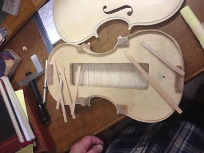 小提琴边条