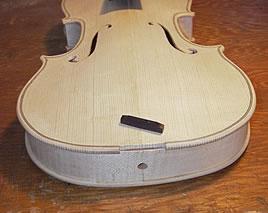 安装制作小提琴尾枕