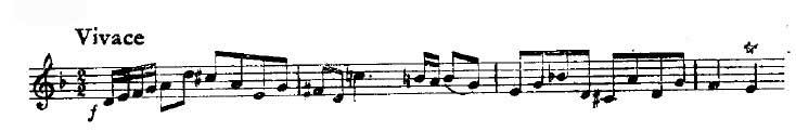 巴赫 d小调二重奏小提琴协奏曲
