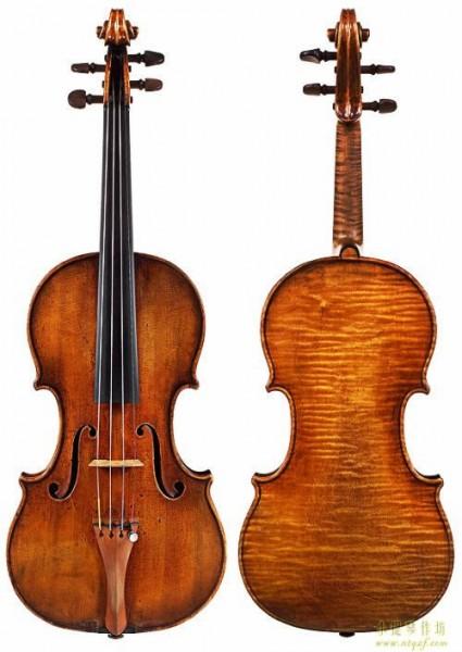 安东尼奥·斯特拉迪瓦里 小提琴,中提琴,大提琴,内模具图纸大全