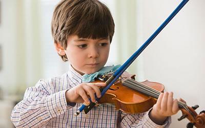 小提琴运弓姿势与持弓要领