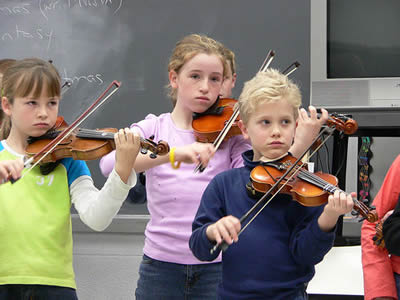 小提琴基本运弓弓法
