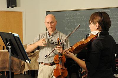 小提琴老师授课方式