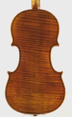 小提琴背板独板样式