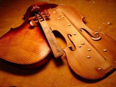 小提琴面板拆卸方法