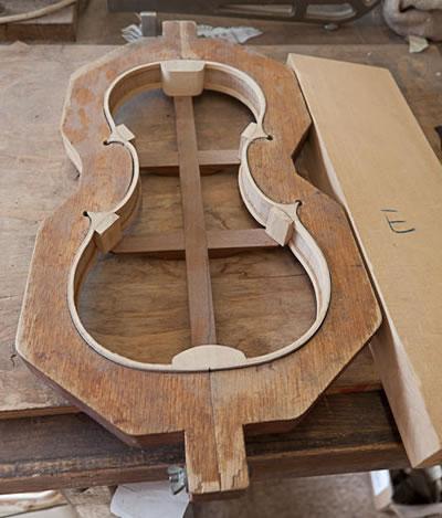 小提琴外模具