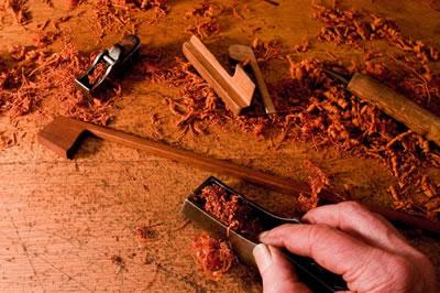 小提琴琴弓制作之弓杆精修