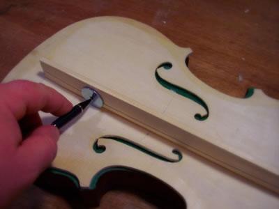 小提琴音梁的安装
