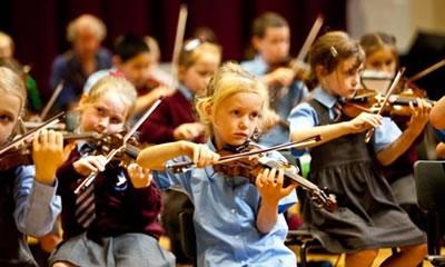 小提琴集体教学