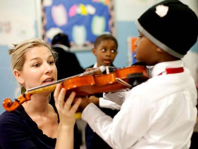 优秀的小提琴教师应有的教学方法