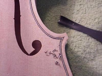 小提琴随琴的制作工序