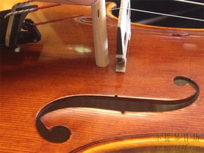 小提琴音柱的安装位置及安装方法