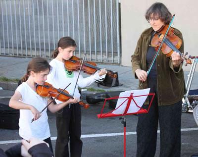 小提琴老师授课前对学生的认识
