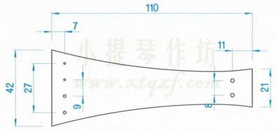 小提琴弦板的制作标准