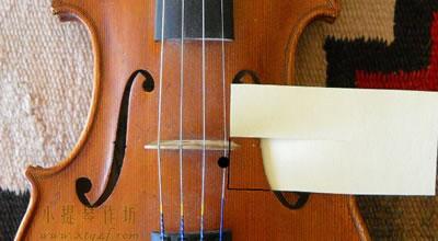 测量音柱距离琴码的距离方法