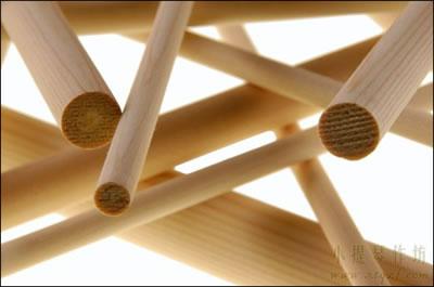 提琴音柱的木纹密度
