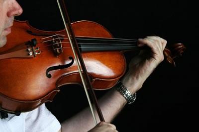 中提琴琴弦上的改变