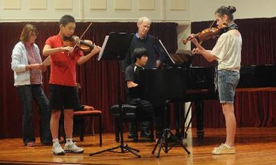 小提琴老师对学生的授课计划