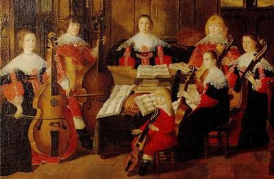 18世纪维奥尔琴的演奏师介绍