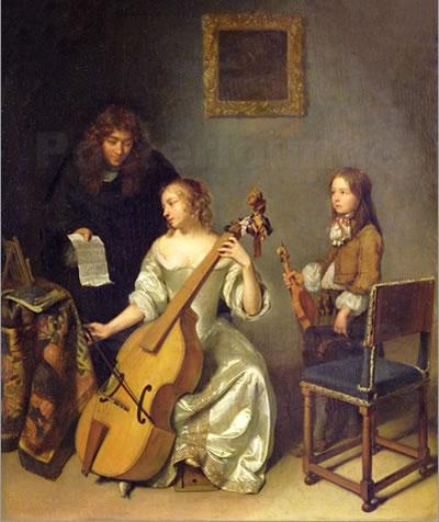 文艺复兴时的音乐形式