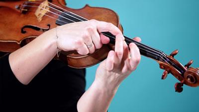 小提琴揉指的练习技巧