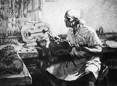比较有名气的意大利古代提琴制作学派
