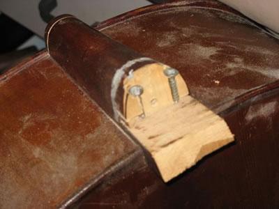 大提琴琴颈锯切拆卸