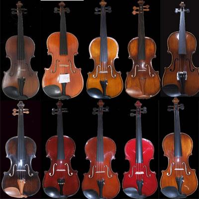 小提琴油漆颜色