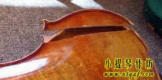 小提琴背板开裂