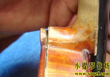 古典提琴琴颈