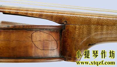 古典提琴侧板