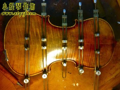 小提琴背板开裂修复