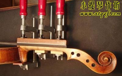 小提琴指板开裂修复