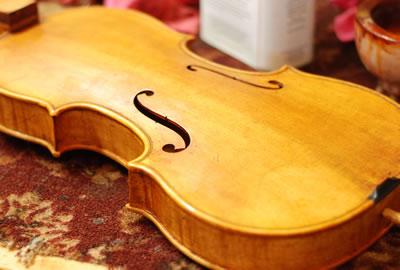 提琴油漆颜色的配制方法