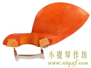 小提琴腮托软木垫的更换