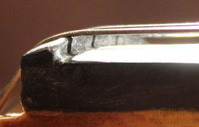 小提琴弦枕距离指板的高度