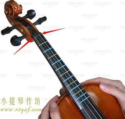 小提琴把位粘贴方法