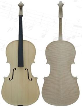 提琴刷漆处理