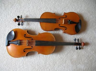 中提琴的琴体尺寸规格
