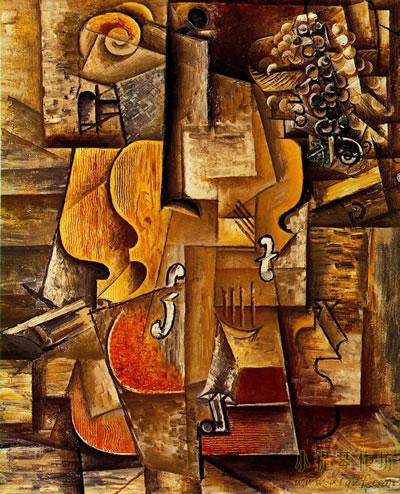 毕加索绘画的小提琴作品大全