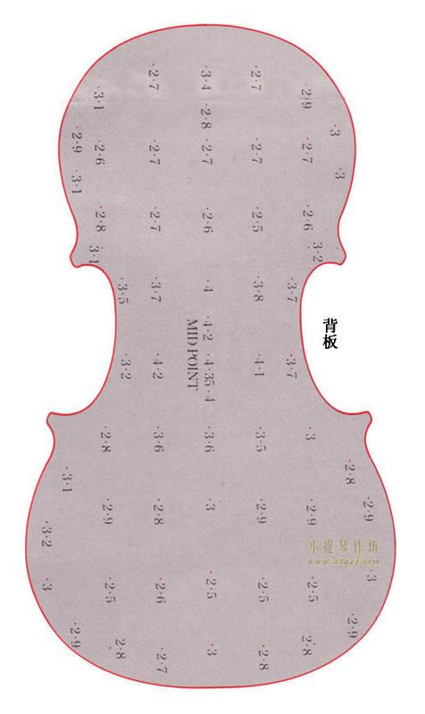 背板制作图纸