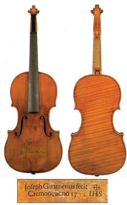 耶稣·瓜尔内里(瓜内利德杰苏)1733小提琴制作图纸