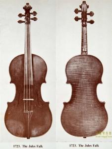 斯特拉迪瓦里1723小提琴