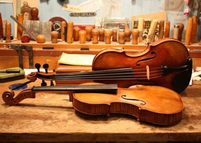 提琴工作室环境