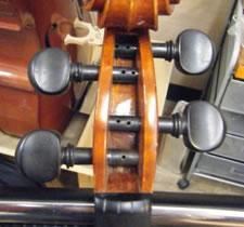 小提琴弦轴